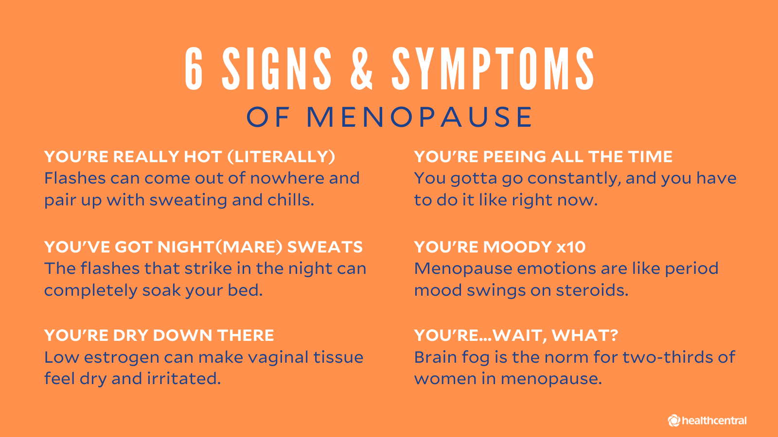 menopause symptoms and HRT
