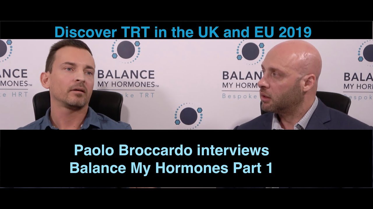 TRT in the UK and EU with Paolo Broccardo Part 1