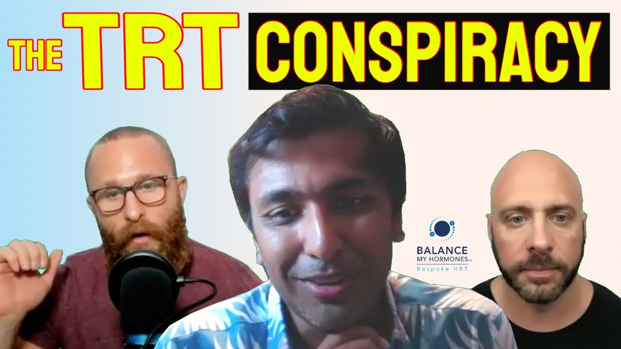 The TRT Conspiracy-Testosterone and Sick Care Conspiracy-System Profits from Sick Patients