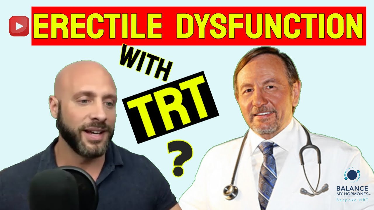 Still Experiencing Erectile Dysfunction on TRT? How to Improve ED with Testosterone and PDE5s