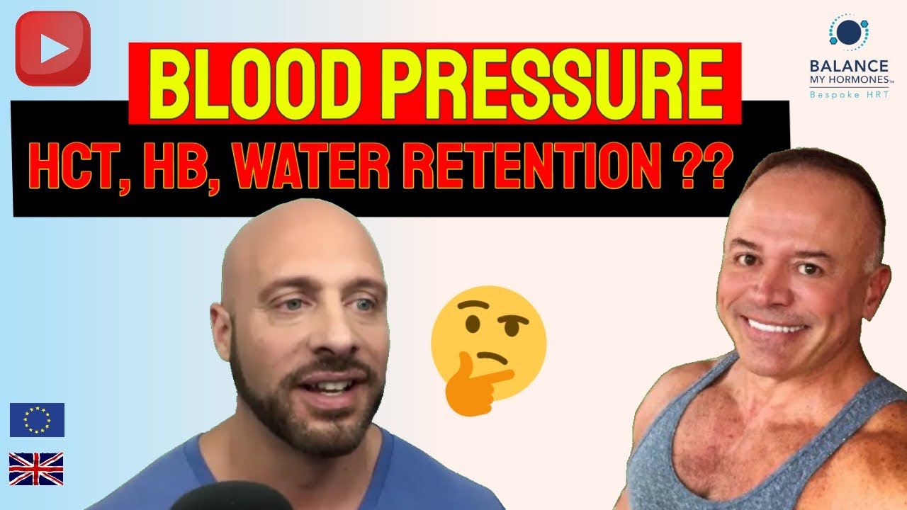Increased Blood Pressure from Water Retention and Elevated Haematocrit??