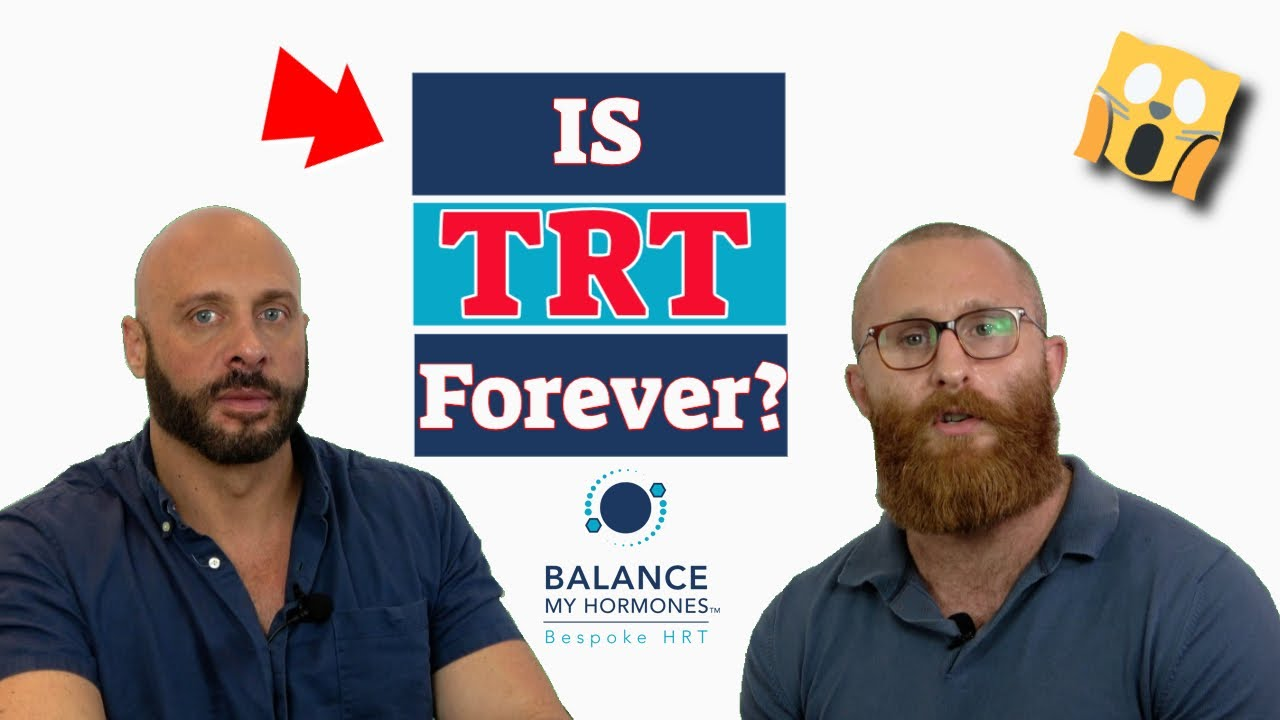 TRT for Life? Is TRT FOREVER? Life long testosterone therapy