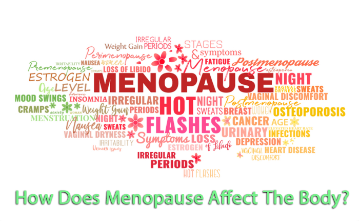 how does menopause affect the body