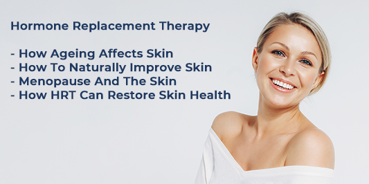 hormone replacement therapy and skin ageing