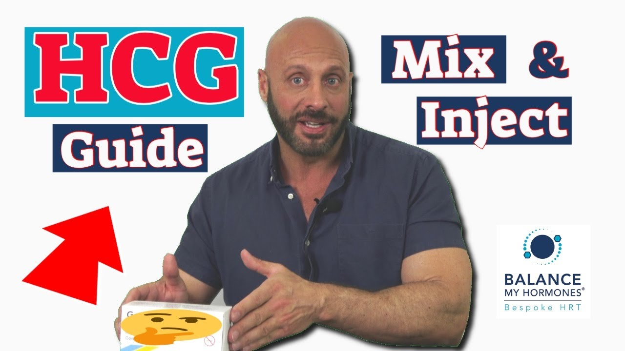 How to Mix and inject HCG. How to reconstitute HCG.