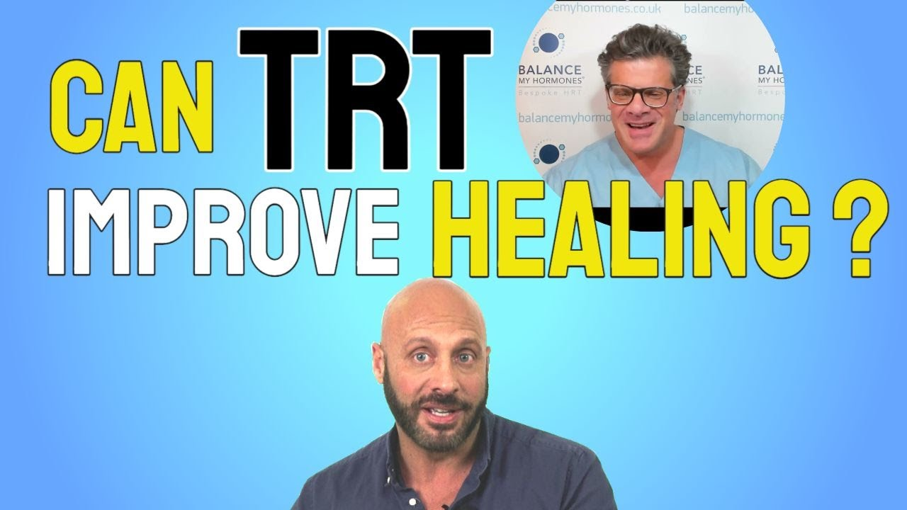 Can TRT help you Recover from an Injury? Can testosterone improve healing after an injury?