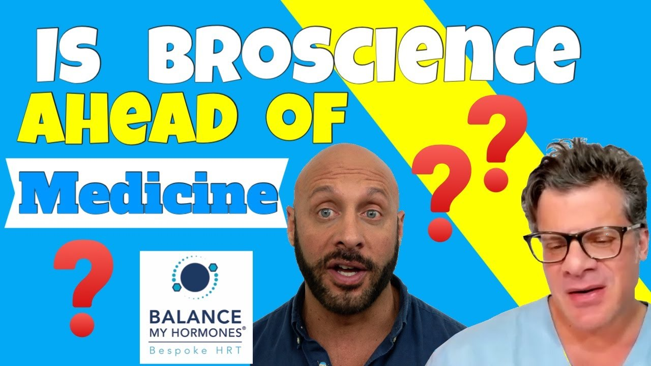 Is Broscience ahead of Science and Medicine? Interview with Dr Testosterone about TRT.
